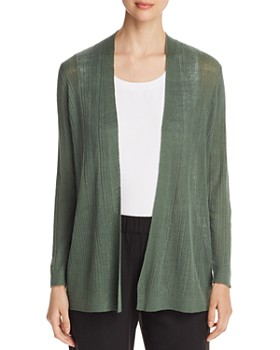 0883262fa7 Eileen Fisher - Ribbed Open-Front Cardigan ...