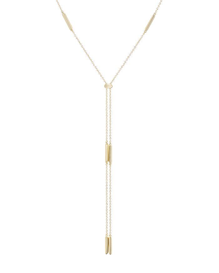 "Kendra Scott - Josephine Double-Drop Lariat Necklace, 26"""