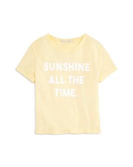 COMUNE - Girls' Sunshine All the Time Tee - Little Kid
