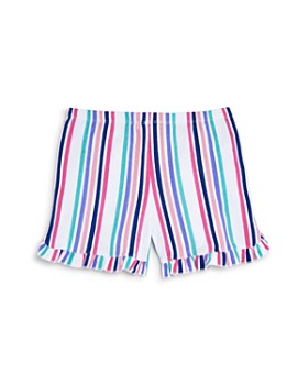 Mini Series - Girls' Multi Stripe Shorts, Little Kid - 100% Exclusive