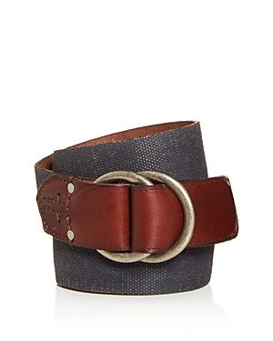 Frye Men\\\'s O-Ring Buckle Canvas Belt-Men