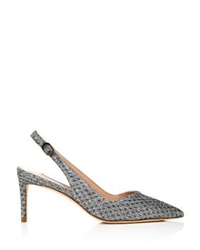 Stuart Weitzman - Women's Edith 70 Slingback Pumps