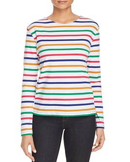 Scotch & Soda - Striped Long-Sleeve Tee