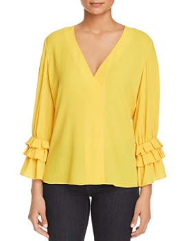 Le Gali - Penelope Ruffle-Sleeve Top - 100% Exclusive