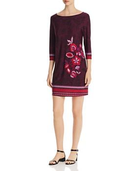 Leota - Nouveau Floral-Print Sheath Dress