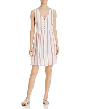 Vero Moda - Hannah Striped A-Line Dress