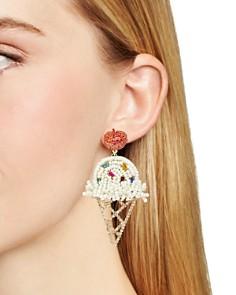 BAUBLEBAR - Jolie Beaded Ice Cream Cone Drop Earrings