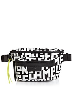 Longchamp - Graphic Medium Nylon Belt Bag