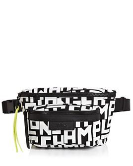 Longchamp - Graphic Medium Nylon Belt Bag