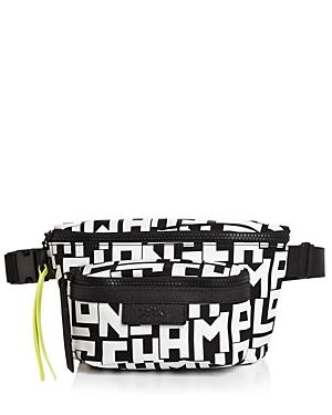 Longchamp Graphic Medium Nylon Belt Bag