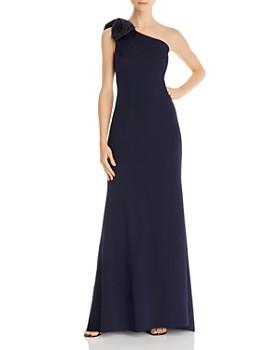 Eliza J - One-Shoulder Gown