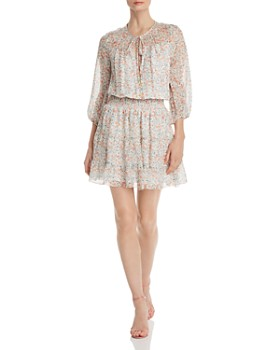 Shoshanna - Floraison Bonne Silk Dress