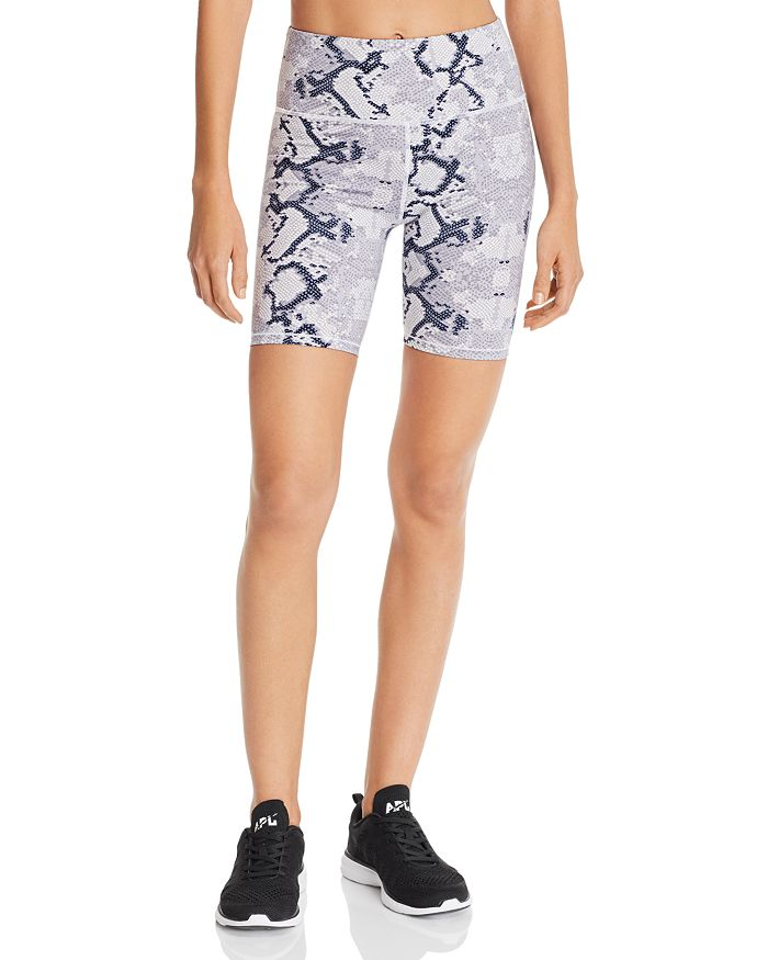 Varley - Louise Snake Print Bike Shorts