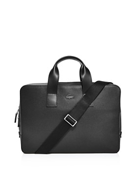 Lacoste - Chantaco Leather Computer Bag
