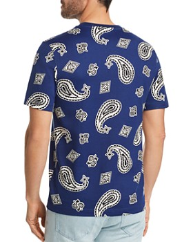 Lacoste - L!VE Printed Paisley Tee