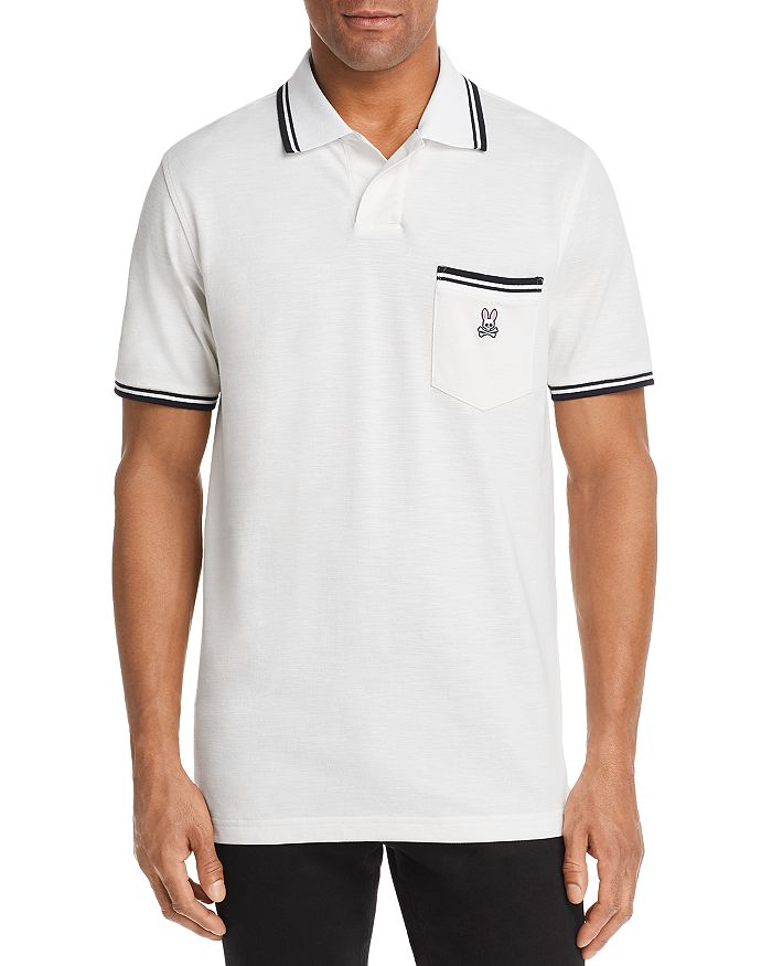 Psycho Bunny - Thornton Stripe-Trimmed Classic Fit Polo Shirt