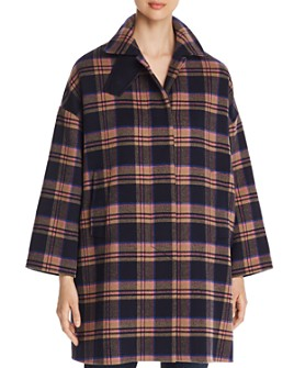 Weekend Max Mara - Max Mara Sonni Plaid Coat