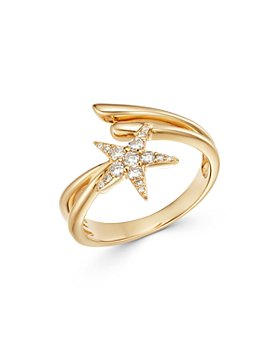Bloomingdale's - Diamond Shooting Star Bypass Ring in 14K Yellow Gold, 0.20 ct. t.w. - 100% Exclusive