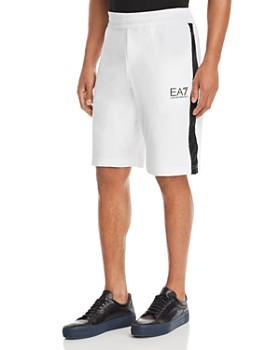 Armani - EA7 Shorts with Contrast Stripe