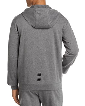 Armani - EA7 Cotton Zip-Up Hoodie