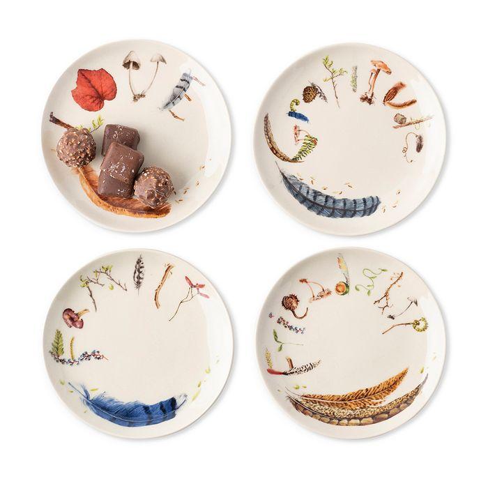 Juliska - Forest Walk Tidbit Plates, Set of 4
