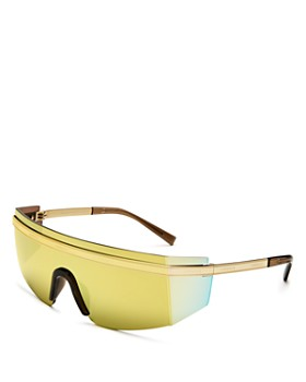 Versace - Unisex Shield Sunglasses, 140mm