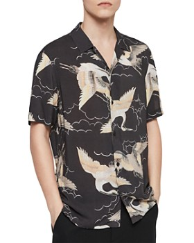 b9d0d6afbb1 ALLSAINTS - Romaji Regular Fit Button-Down Shirt ...
