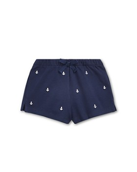 Ralph Lauren - Girls' Embroidered Pique Shorts - Baby