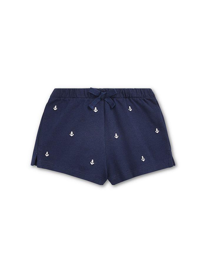 Ralph Lauren - Girls' Embroidered Pique Shorts - Baby