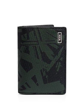 Tumi - Monaco Embossed Leather Folding Card Case