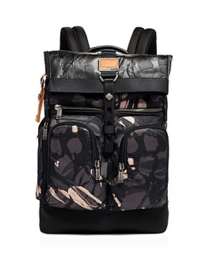 Tumi Backpacks ALPHA BRAVO LONDON ROLL-TOP BACKPACK