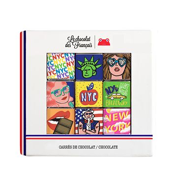 Le Chocolat des Francais - NYC Chocolate Squares, Set of 9