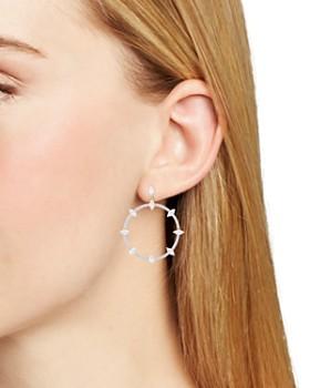 Nadri - Breeze Frontal Hoop Earrings