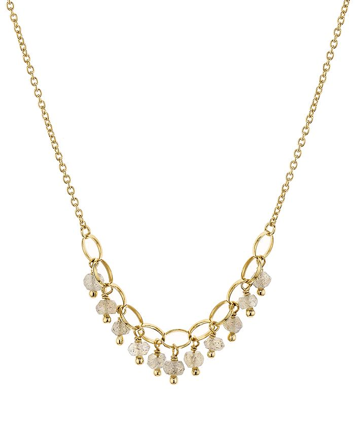 "Nadri - Venice Dangle Necklace in 18K Gold-Plated Sterling Silver, 16"""