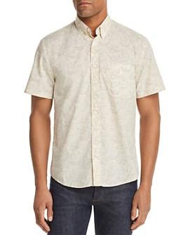 Billy Reid - Tuscumbia Short-Sleeve Floral-Print Regular Fit Button-Down Shirt