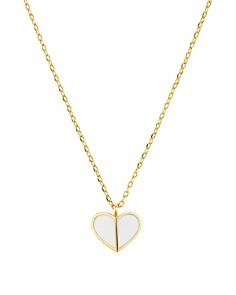 kate spade new york - Heart Mini Pendant Necklace, 16""