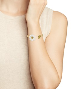 kate spade new york - Bee Open Hinged Cuff Bracelet