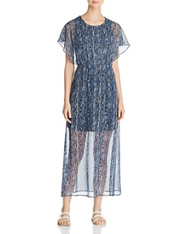 Vero Moda - Fay Illusion-Hem Maxi Dress