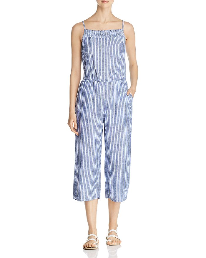 BeachLunchLounge - Striped Jumpsuit