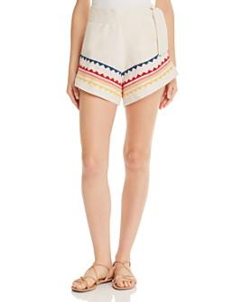 Carolina K - Embroidered Sandy Shorts