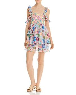 All Things Mochi - Ilima Floral Dress