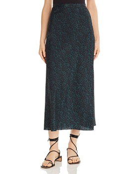 Bec & Bridge - Animale Fever Silk Skirt