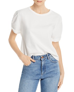 Rebecca Minkoff - Ally Twist-Sleeve Top