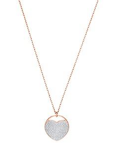 "Swarovski - Ginger Pendant Necklace, 15.6"""
