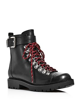 Charles David - Women's Resistance Leather Combat Boots