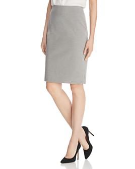 BOSS - Velanda Houndstooth Pencil Skirt - 100% Exclusive