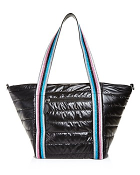 GiGi - Girls' Rainbow-Strap Quilted Tote Bag - 100% Exclusive