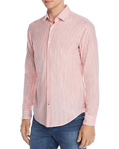 BOSS Hugo Boss - Rikki Striped Regular Fit Shirt
