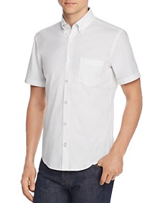 BOSS Hugo Boss - Roddy Short-Sleeve Slim Fit Dobby Button-Down Shirt
