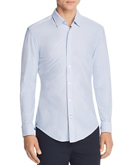 BOSS - Ronni Pinstripe Slim Fit Shirt